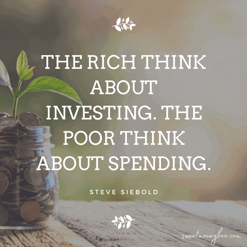 rich vs poor quotes investing