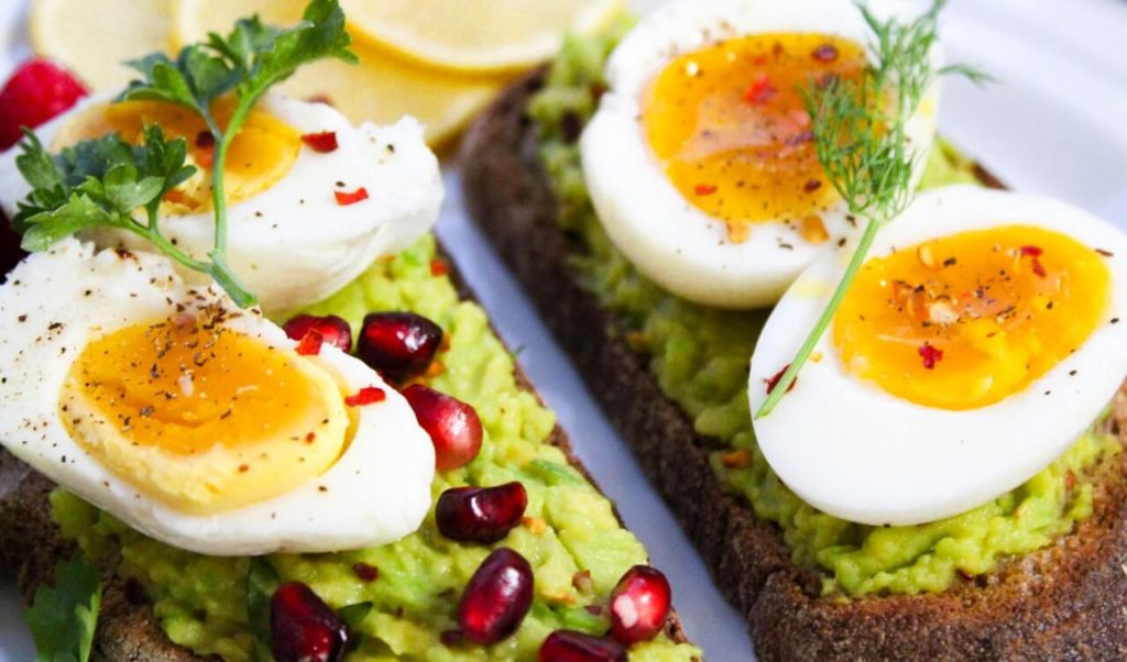 healthy grocery list eggs