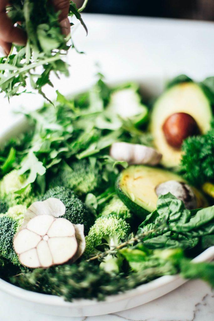 healthy grocery list vegetables