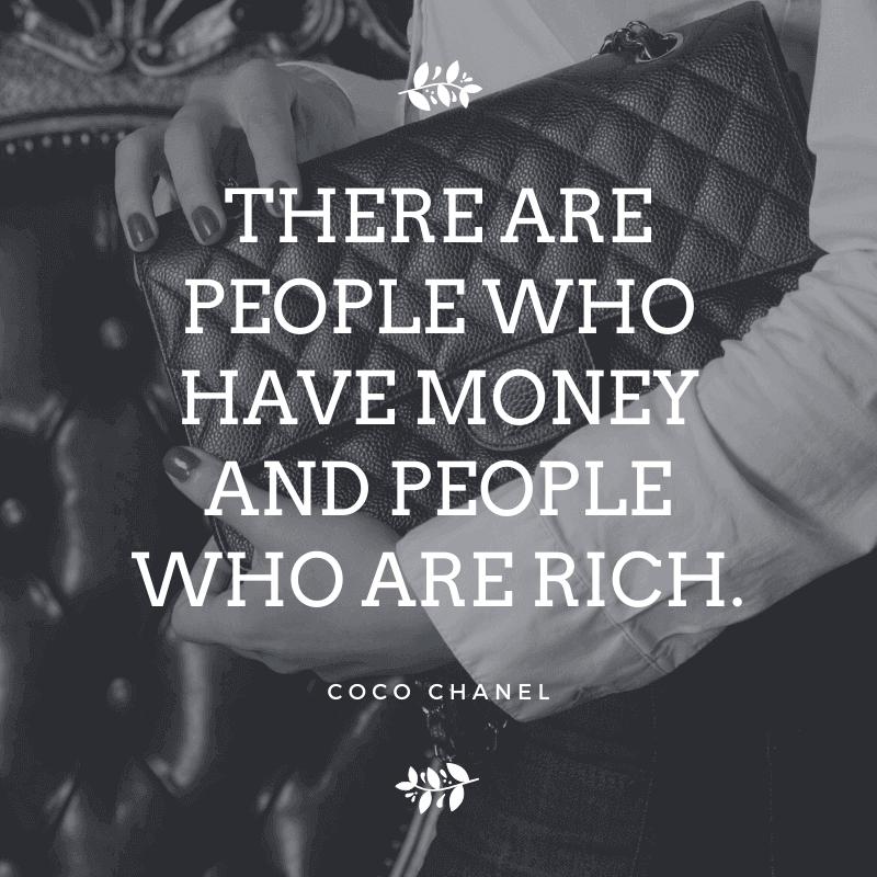 money quotes coco chanel