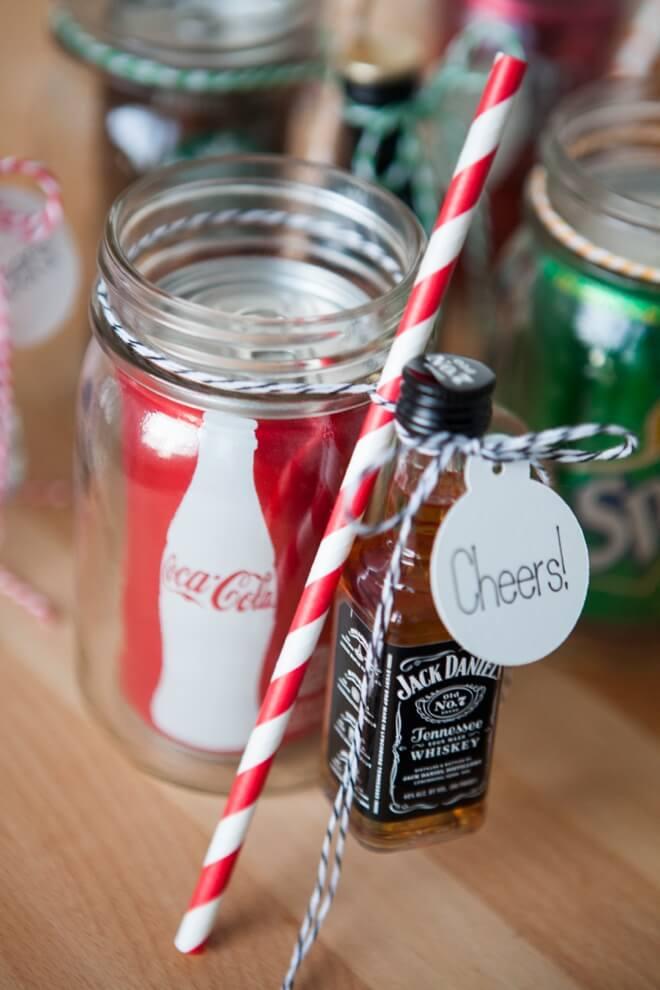 mason jar crafts diy drink