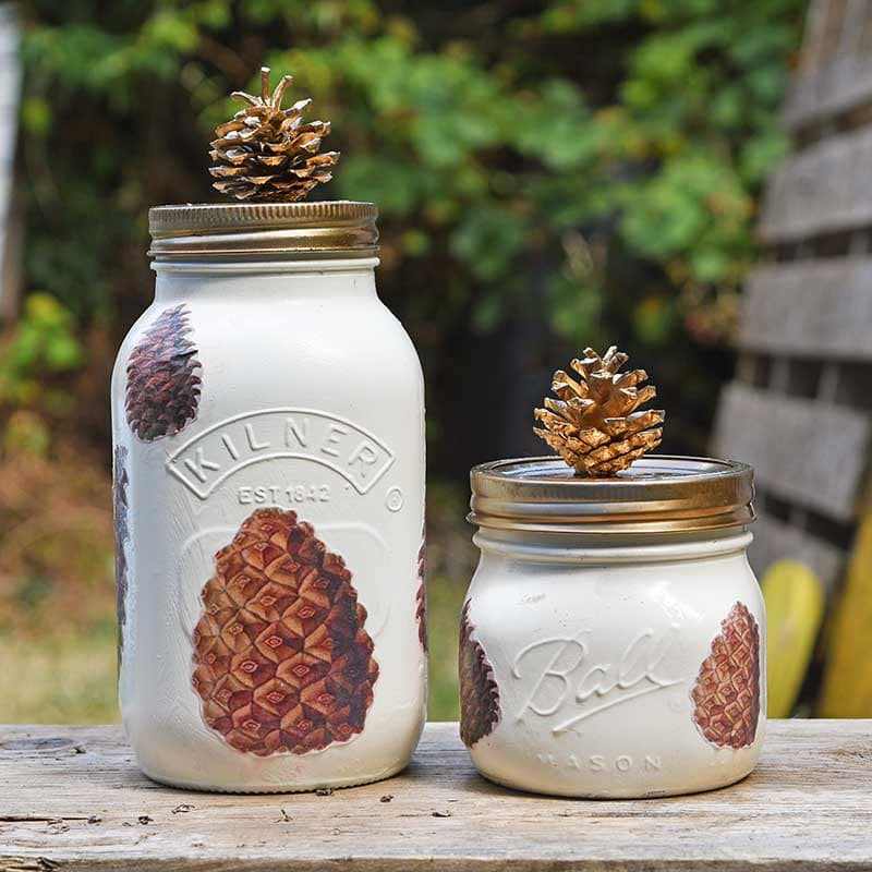mason jar crafts fall