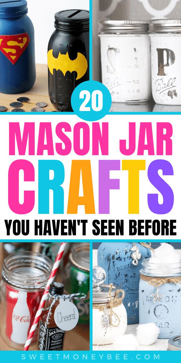 mason jar crafts pin