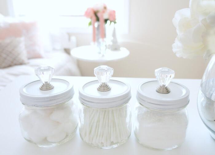 mason jar crafts pretty jar