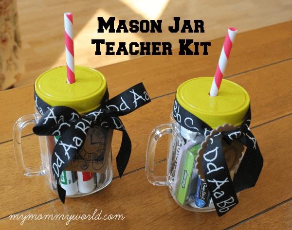 mason jar crafts teacher gifts