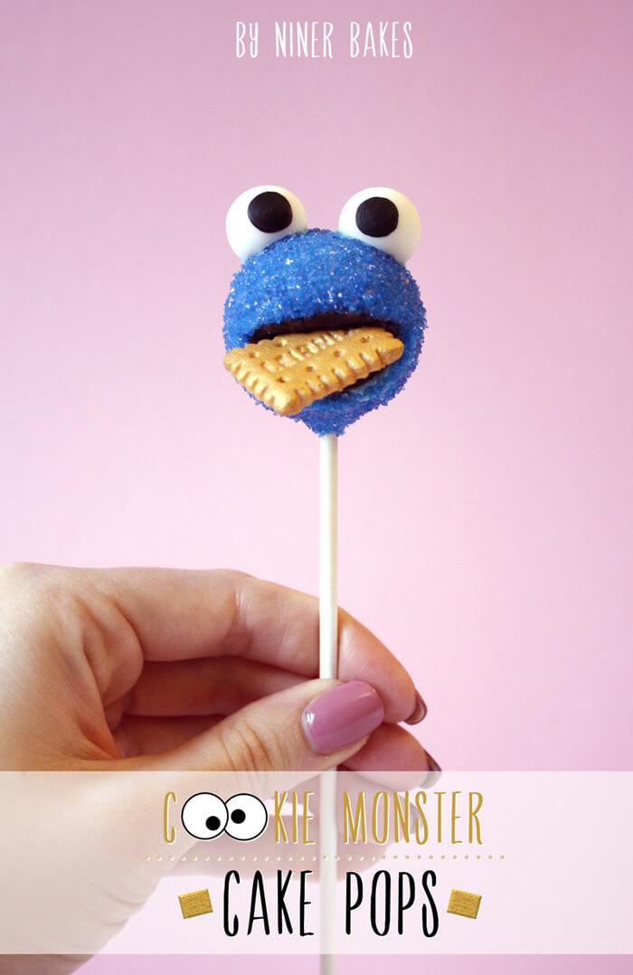 cake pops cookie monster