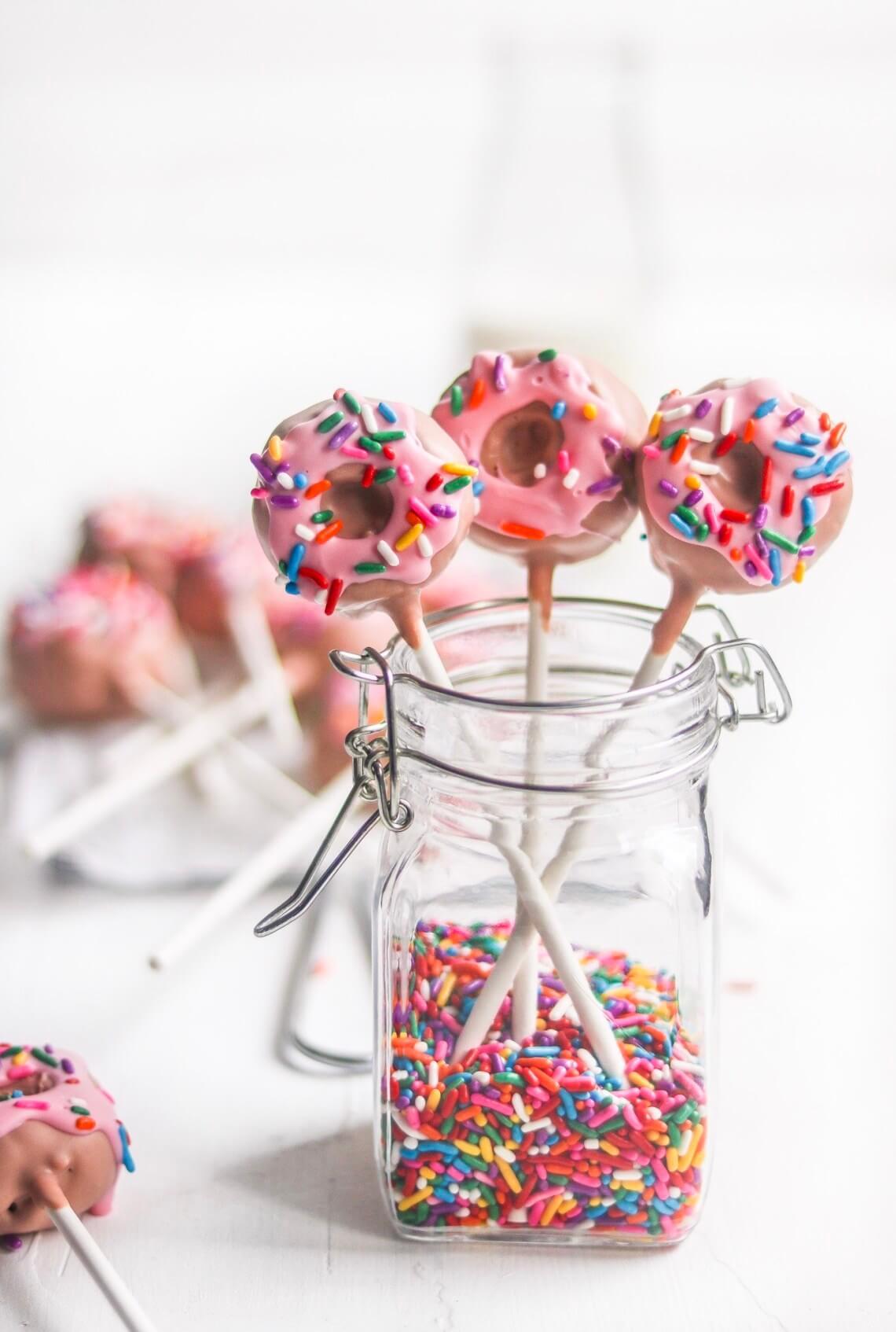 donut cake balls