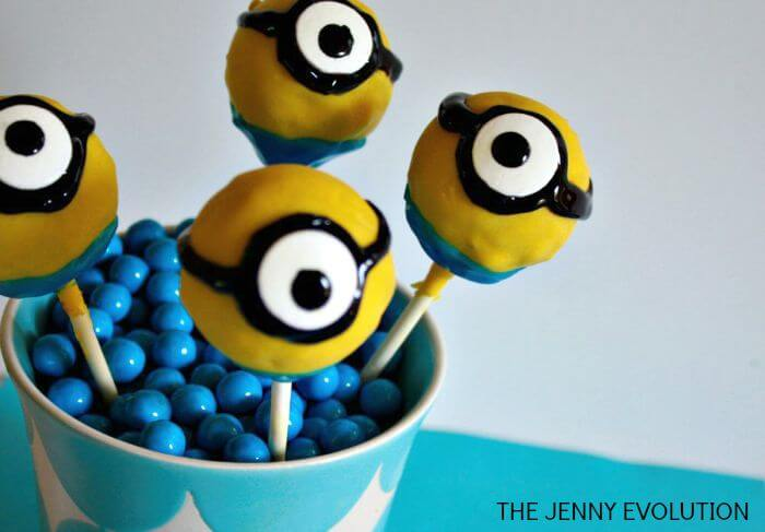cake pops minion