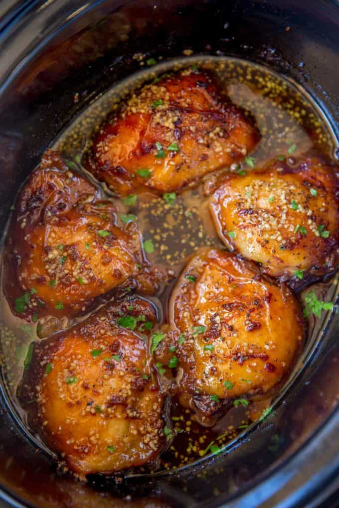 Slow-Cooker-Brown-Sugar-Garlic-Chicken