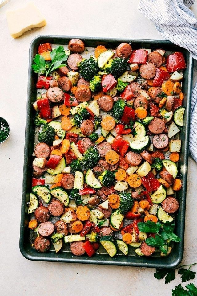 easy-meal-prep-veggies-sausage
