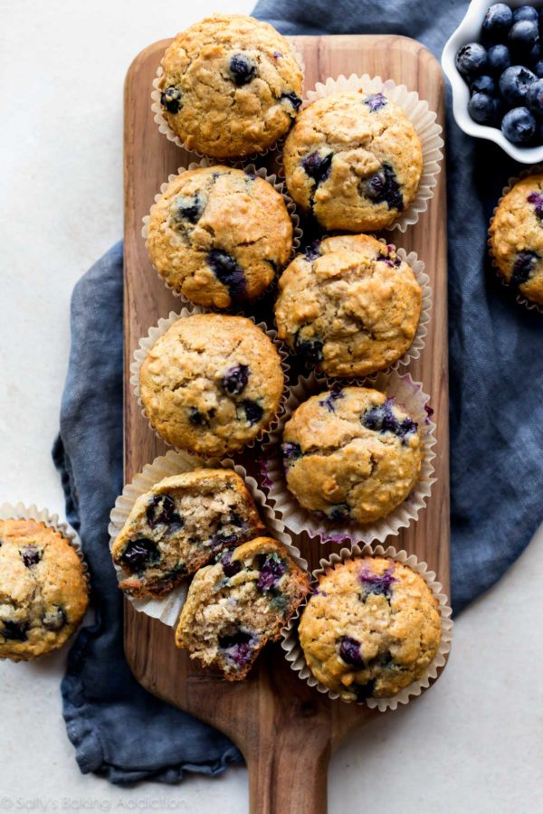 healthy-meal-prep-blueberry-oatmeal-muffins