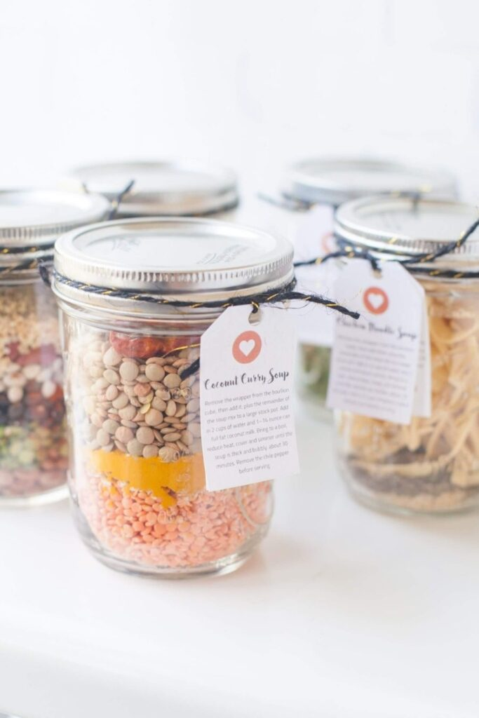 christmas-gift-soup-mixes-in-a-jar