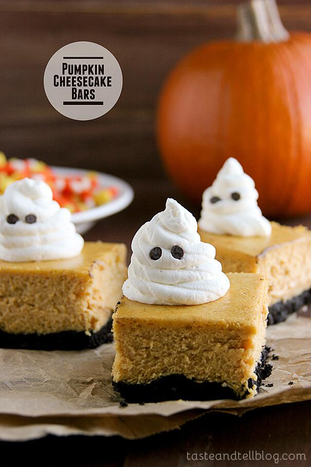 cute halloween desserts ghosts