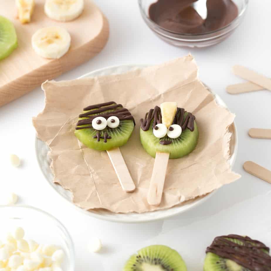healthy easy to make halloween desserts adults kiwi