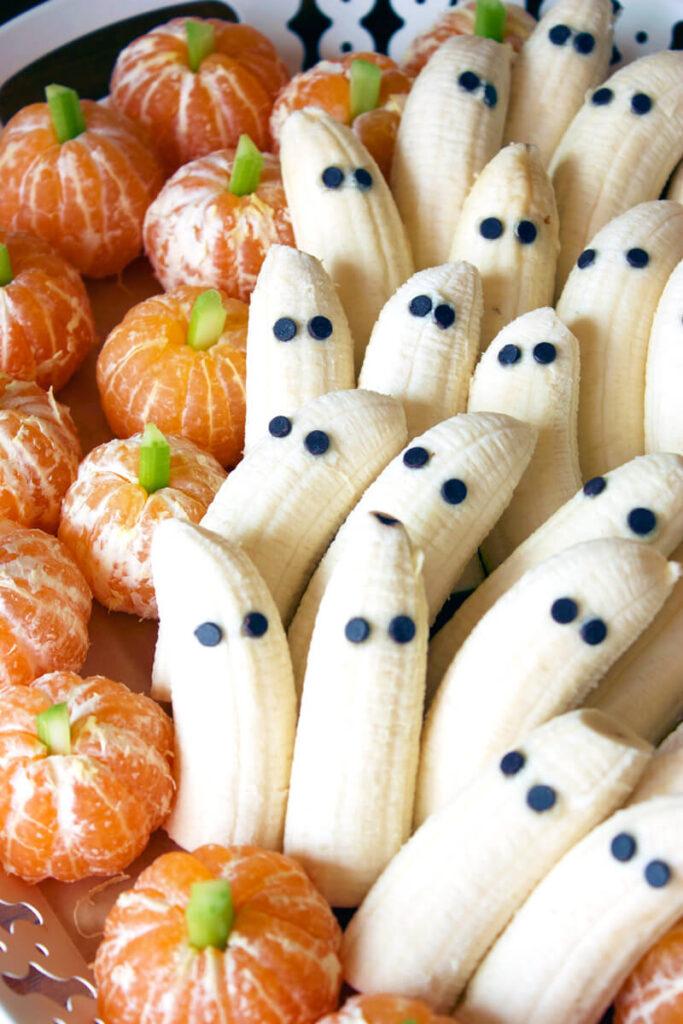 healthy halloween dessert easy to make banana