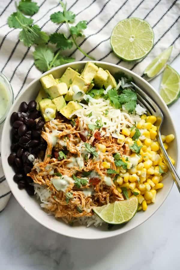 healthy-slow-cooker-chicken-burrito-bowl