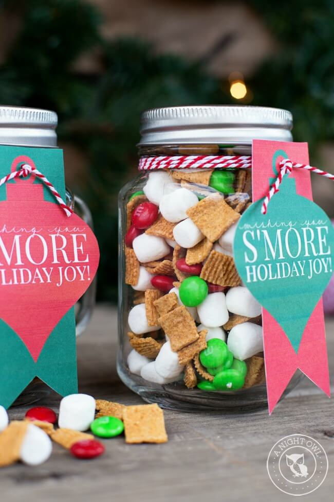 smores-mason-jar-gift-for-christmas