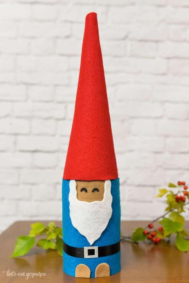 Gnome kids craft jar