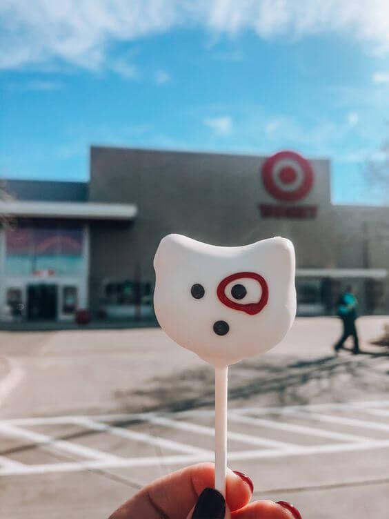 bullseye target cake pop starbucks