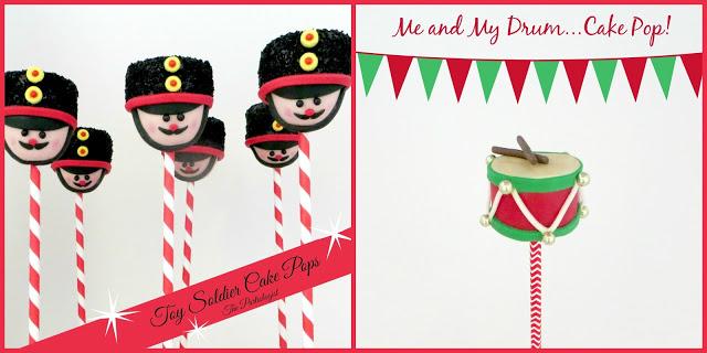 christmas cake pop recipe toy soilder