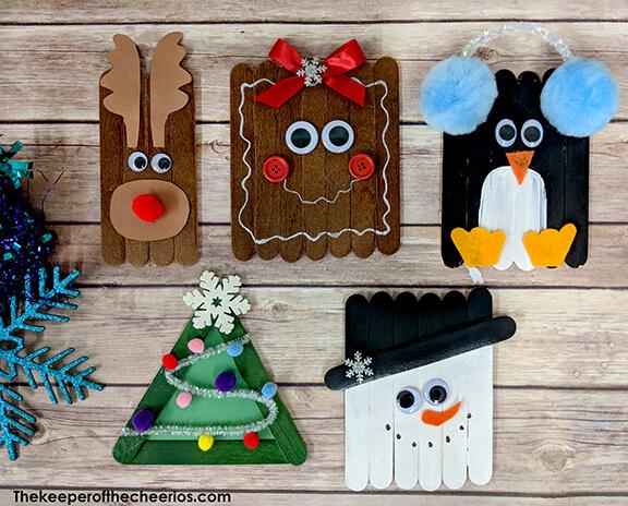 christmas craft sticks for kids
