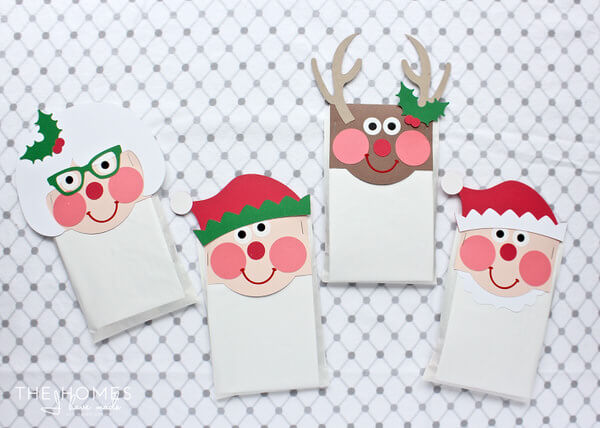 christmas crafts for kids treat bags