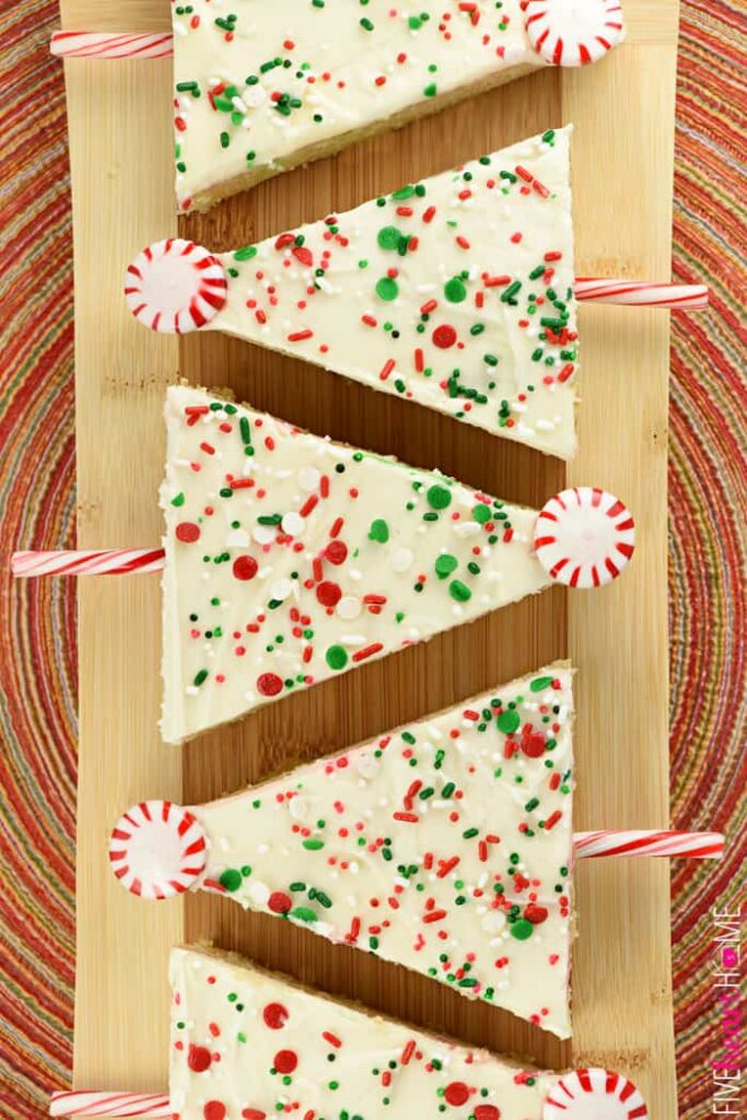 christmas tree sheet cake pop