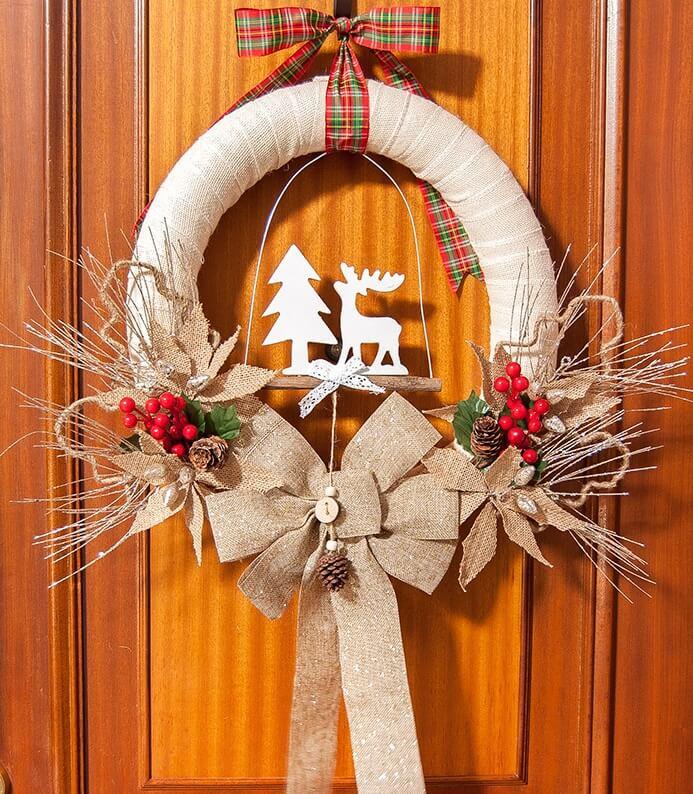 diy christmas wreaths dollar tree