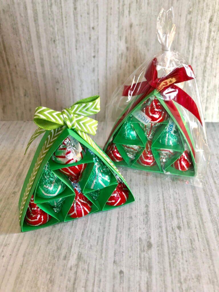 diy hershey kisses christmas tree