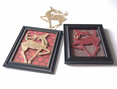 dollar store reindeer craft
