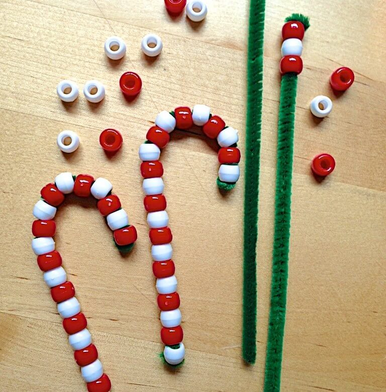 dollar tree christmas crafts candy cane