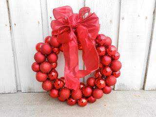 dollar tree christmas crafts wire hanger wreath