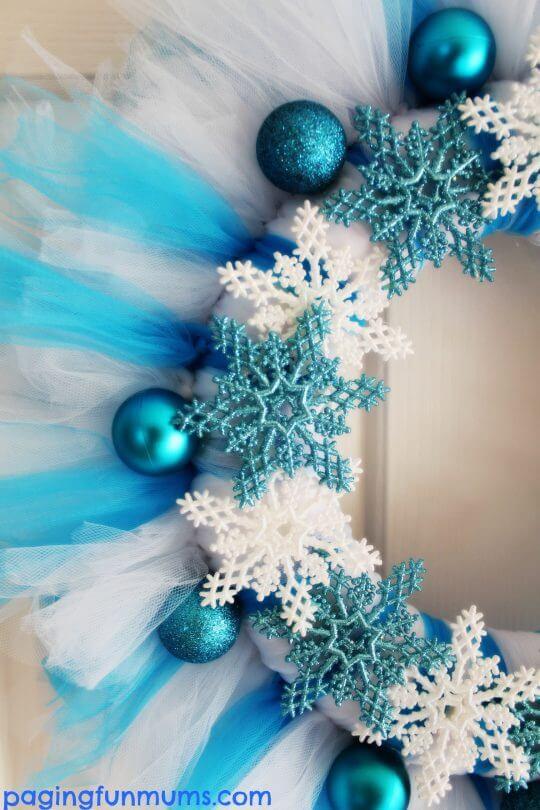 dollar tree christmas wreath diy frozen