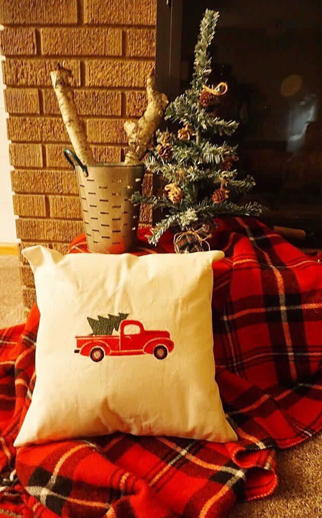 dollar tree farmhouse christmas tree craft
