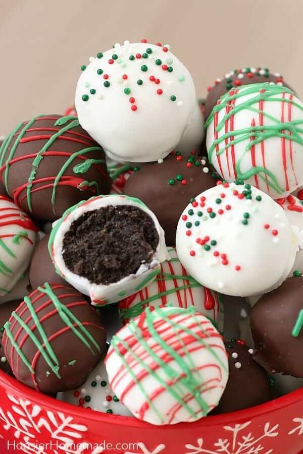 oreo cake pops christmas recipes
