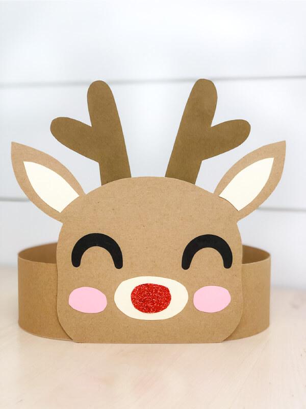 reindeer handband kids crafts for christmas