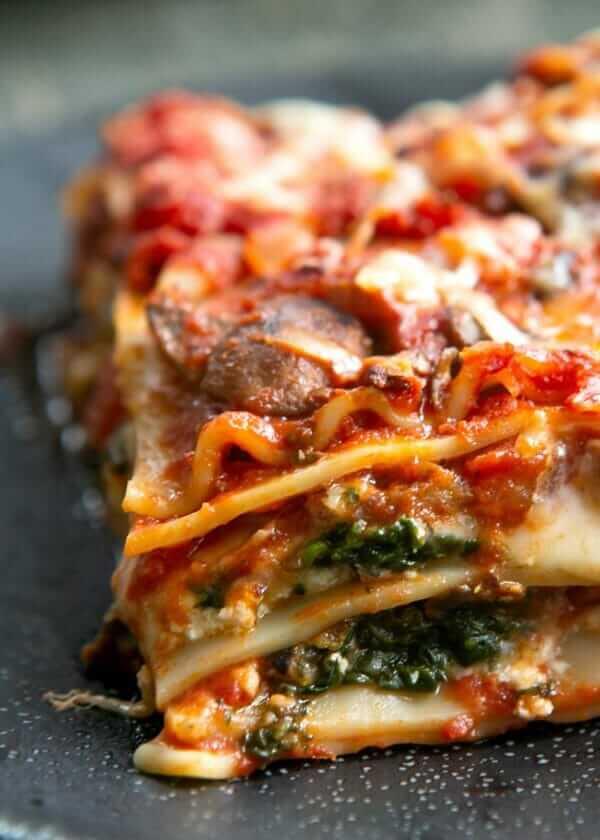 meatless monday vegetarian lasagna