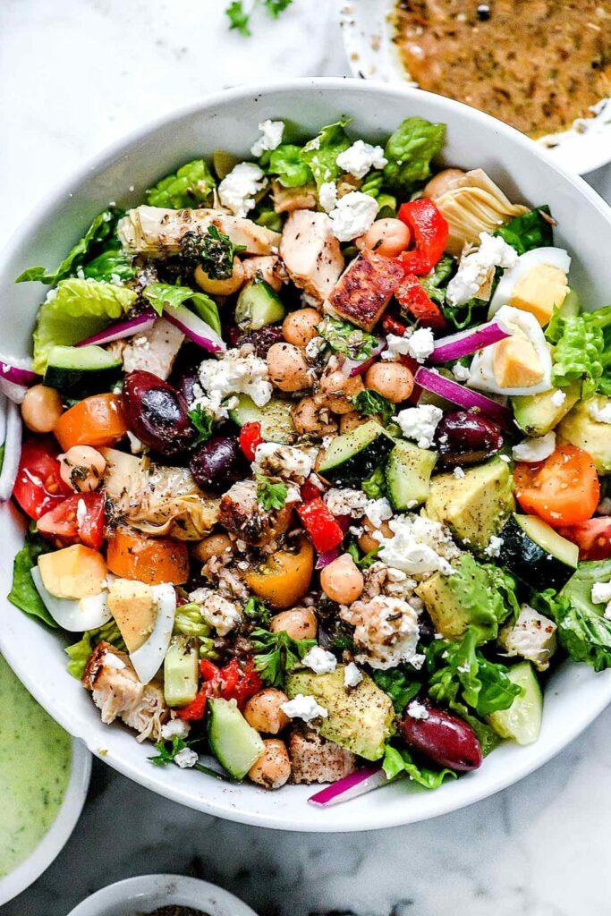 Griechischer Cobb-Salat zum Abnehmen