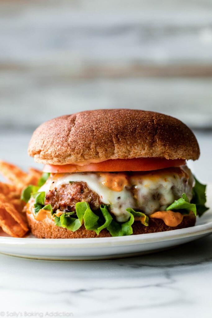 Gesund-Truthahn-Burger