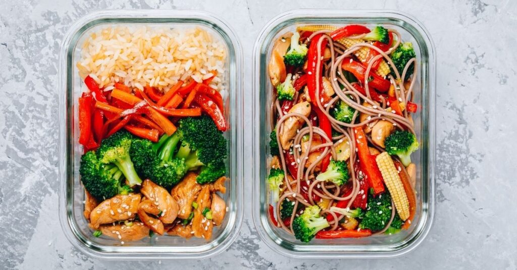 healthy meal prep for weight loss