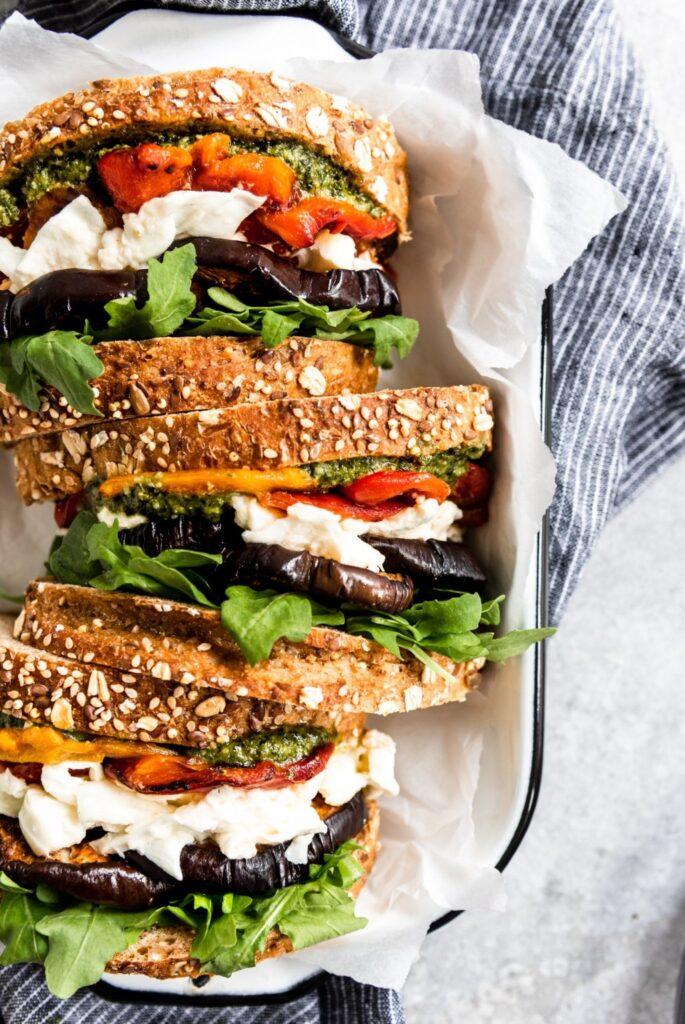Balsamic-eggplant-sandwiches
