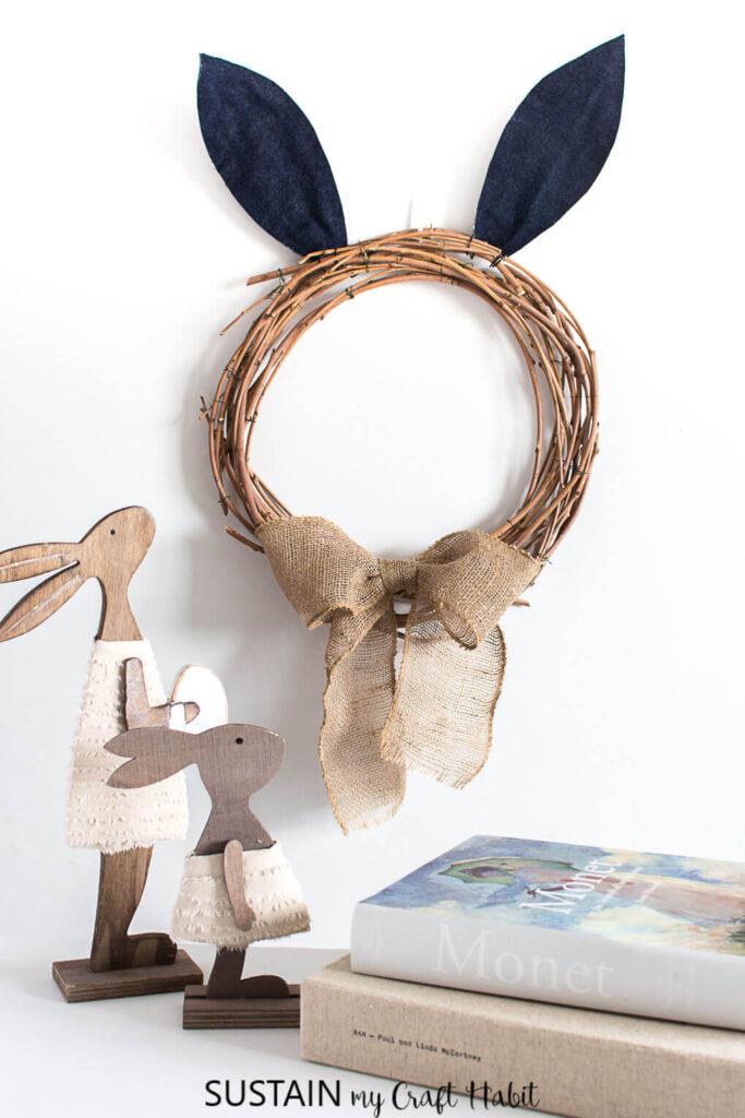 Bunny-ears-easter-wreath