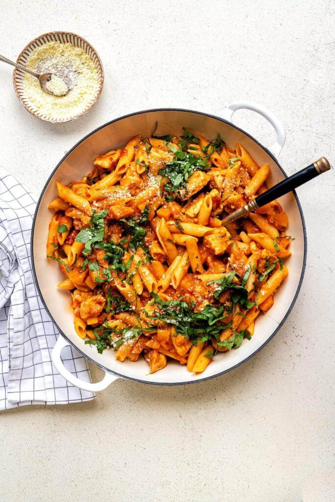 Cajun-chicken-pasta