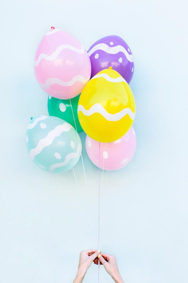 DIY-Ostereier-Ballons