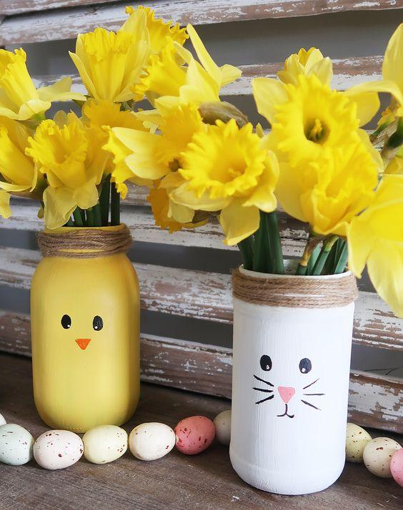 Diy-easter-bunny-vase