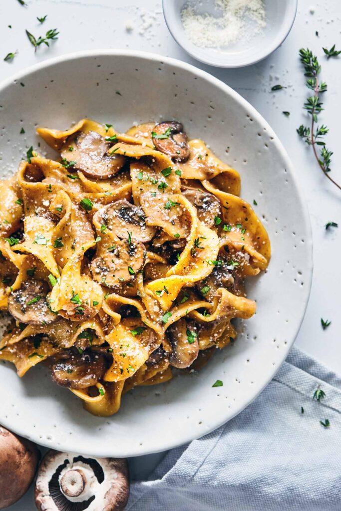 Mushroom-stroganoff