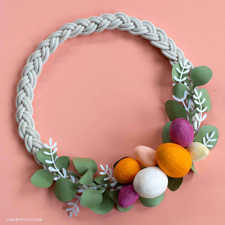 Paper_biber_easter_wreath