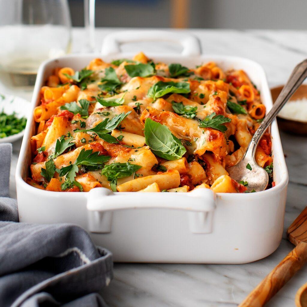 Vegetarian-baked-ziti
