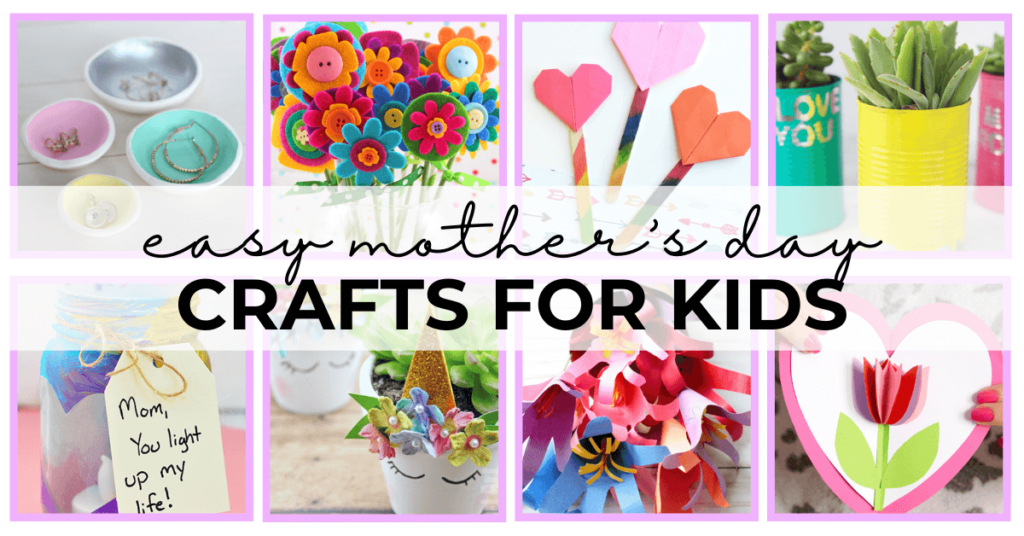 55 - easy mothers day crafts for kids