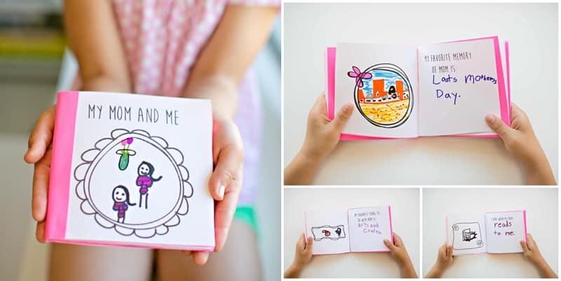 Muttertag-Buch-Kinder
